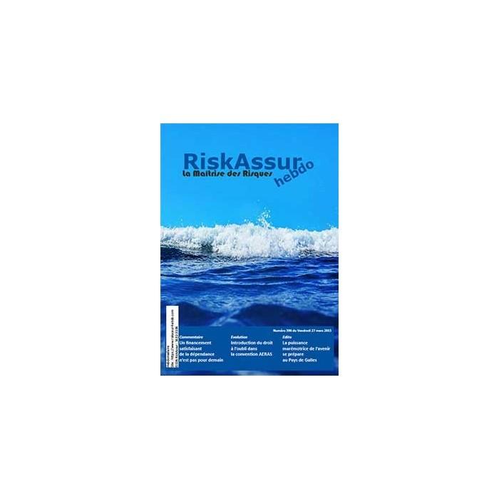 Sommaire du numéro 396 de RiskAssur-hebdo du Vendredi 27 mars 2015