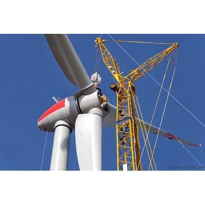 Les éoliennes géantes ne se fondent pas toujours avec bonheur dans le paysage
