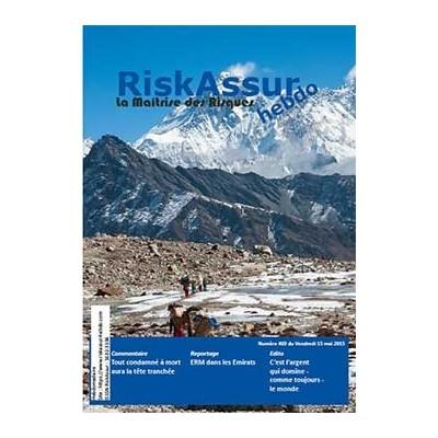Sommaire du numéro 403 de RiskAssur-hebdo du Vendredi 15 mai 2015