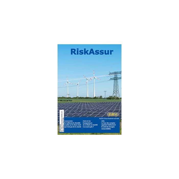 Numéro 533 de RiskAssur-hebdo du Vendredi 4 mai 2018