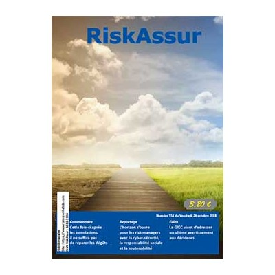 Numéro 551 de RiskAssur-hebdo du Vendredi 26 octobre 2018