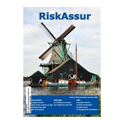 Numéro 552 de RiskAssur-hebdo du Vendredi 9 novembre 2018
