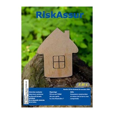 Numéro 553 de RiskAssur-hebdo du Vendredi 16 novembre 2018
