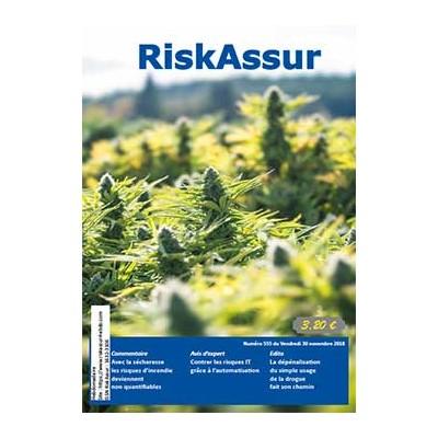 Numéro 555 de RiskAssur-hebdo du Vendredi 30 novembre 2018