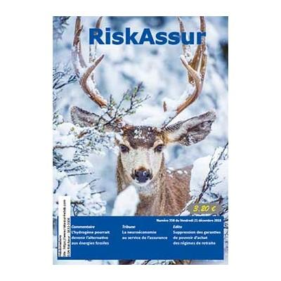 Numéro 558 de RiskAssur-hebdo du Vendredi 21 décembre 2018