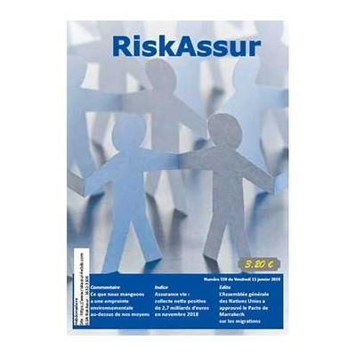 Numéro 559 de RiskAssur-hebdo du Vendredi 11 janvier 2019