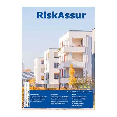 Numéro 561 de RiskAssur-hebdo du Vendredi 25 janvier 2019