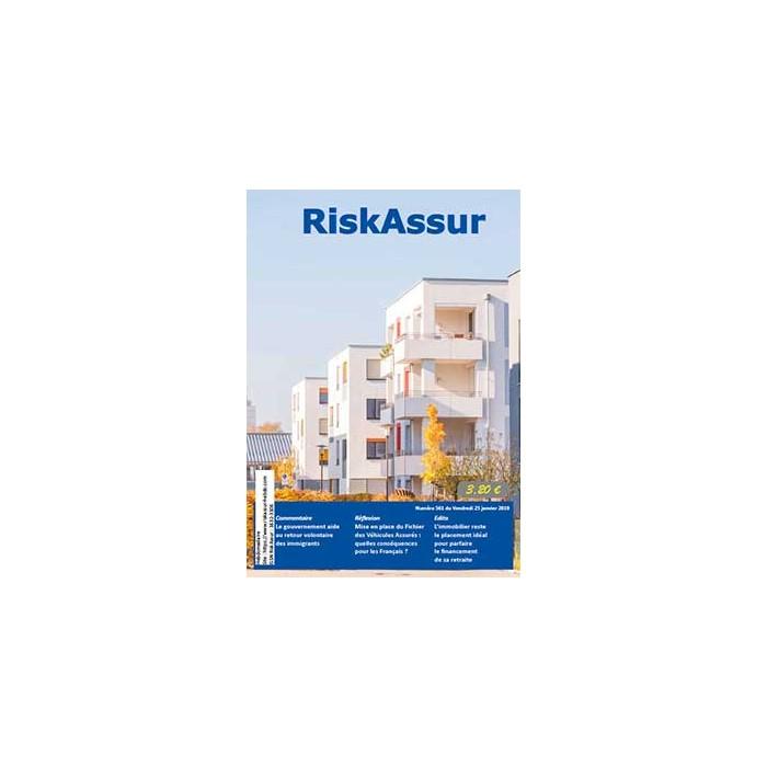 Numéro 561 de RiskAssur-hebdo du Vendredi 18 janvier 2019