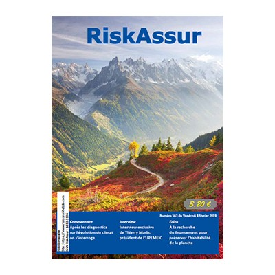 Numéro 563 de RiskAssur-hebdo du Vendredi 8 février 2019