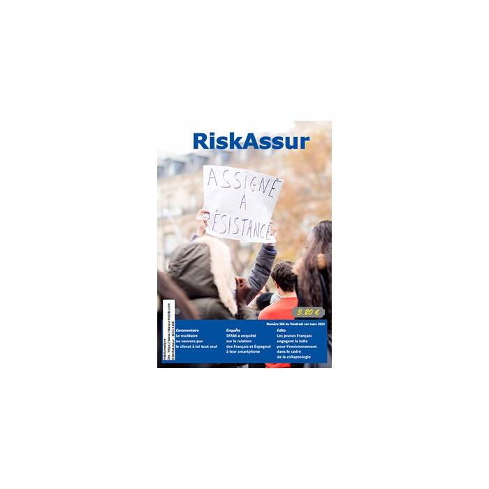 Numéro 566 de RiskAssur-hebdo du Vendredi 1er mars 2019