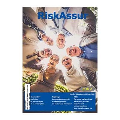 Numéro 568 de RiskAssur-hebdo du Vendredi 22 mars 2019