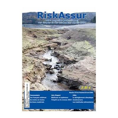 Numéro 573 de RiskAssur-hebdo du Vendredi 26 avril 2019