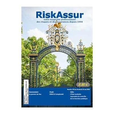 Numéro 576 de RiskAssur-hebdo du Vendredi 24 mai 2019