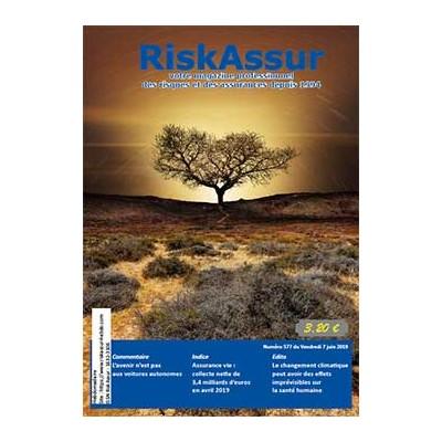 Numéro 577 de RiskAssur-hebdo du Vendredi 7 juin 2019
