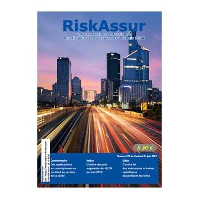 Numéro 579 de RiskAssur-hebdo du Vendredi 21 juin 2019