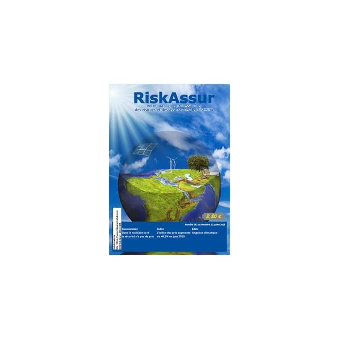 Numéro 582 de RiskAssur-hebdo du Vendredi 12 juillet 2019