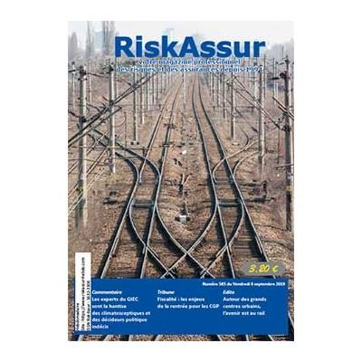 Numéro 585 de RiskAssur-hebdo du Vendredi 6 septembre 2019