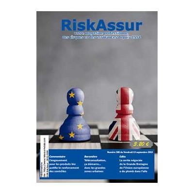Numéro 565 de RiskAssur-hebdo du Vendredi 13 septembre 2019