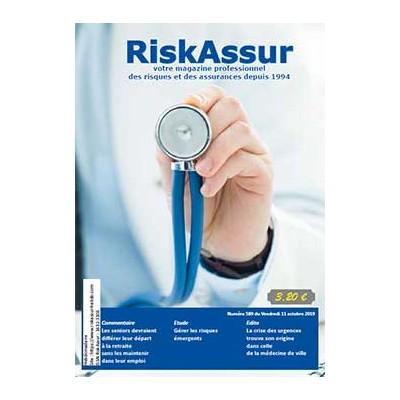 Numéro 589 de RiskAssur-hebdo du Vendredi 11 octobre 2019