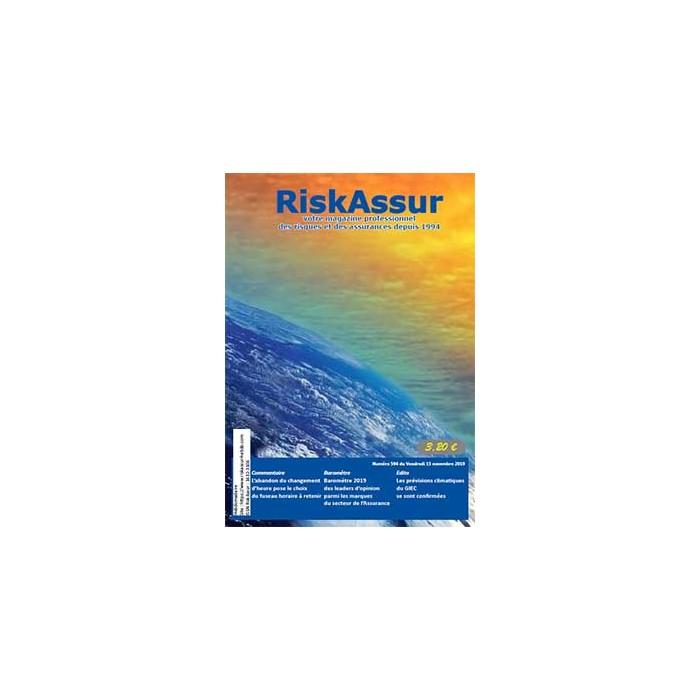 Numéro 594 de RiskAssur-hebdo du Vendredi 15 novembre 2019