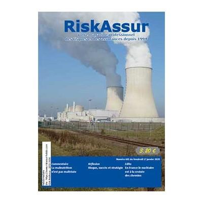 Numéro 601 de RiskAssur-hebdo du Vendredi 17 janvier 2020
