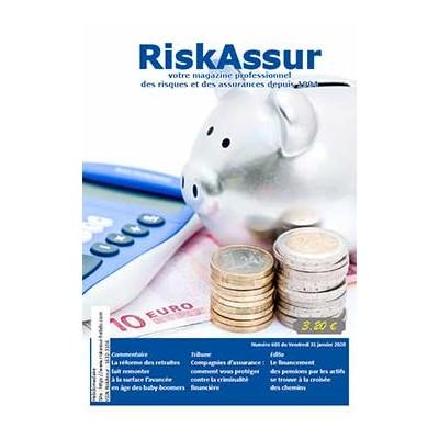 Numéro 603 de RiskAssur-hebdo du Vendredi 31 janvier 2020