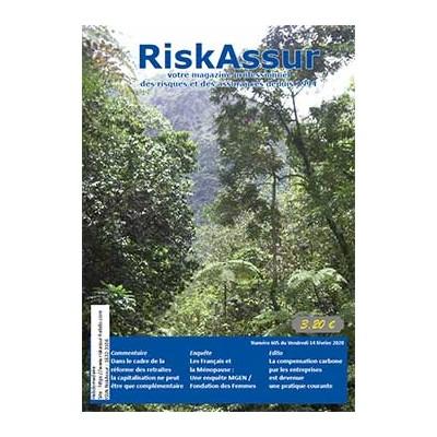 Numéro 605 de RiskAssur-hebdo du Vendredi 14 février 2020