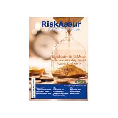 Numéro 599 de RiskAssur-hebdo du Vendredi 20 décembre 2019
