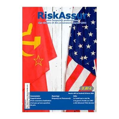 Numéro 607 de RiskAssur-hebdo du Vendredi 28 février 2020