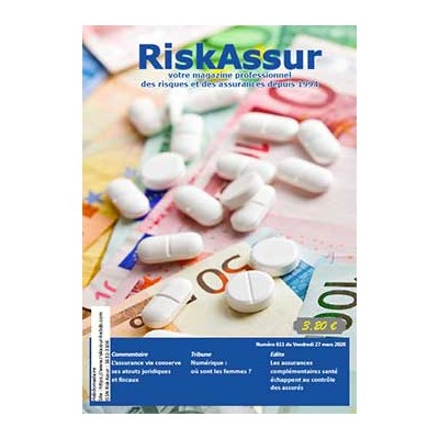 Numéro 611 de RiskAssur-hebdo du Vendredi 27 mars 2020