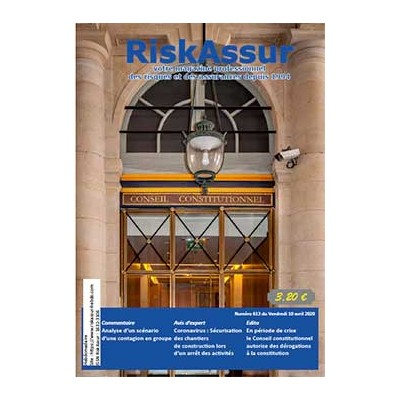 Numéro 613 de RiskAssur-hebdo du Vendredi 10 avril 2020