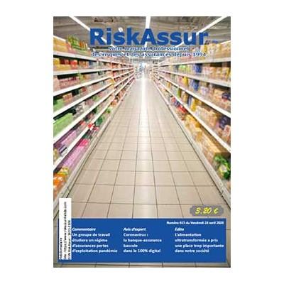 Numéro 615 de RiskAssur-hebdo du Vendredi 24 avril 2020