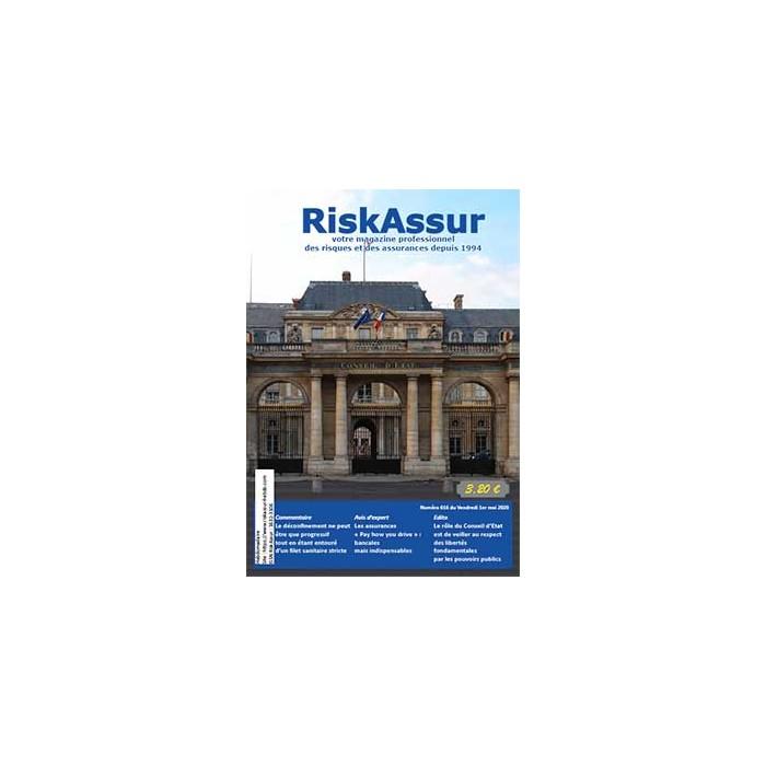 Numéro 616 de RiskAssur-hebdo du Vendredi 1er mai 2020