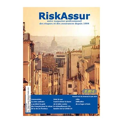 Numéro 623 de RiskAssur-hebdo du Vendredi 26 juin 2020