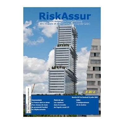 Numéro 627de RiskAssur-hebdo du Vendredi 31 juillet 2020