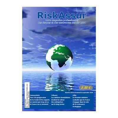 Numéro 630 de RiskAssur-hebdo du Vendredi 18 septembre 2020