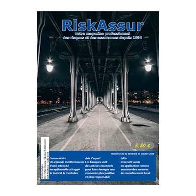 Numéro 635 de RiskAssur-hebdo du Vendredi 23 octobre 2020