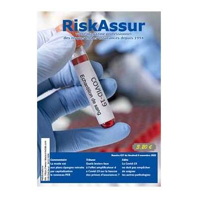 Numéro 637 de RiskAssur-hebdo du Vendredi 6 novembre 2020