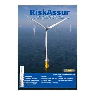 Numéro 641 de RiskAssur-hebdo du Vendredi 4 décembre 2020