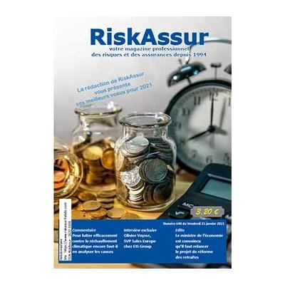Numéro 644 de RiskAssur-hebdo du Vendredi 15 janvier 2021