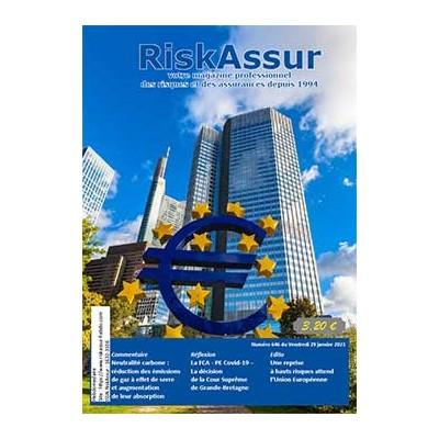 Numéro 646 de RiskAssur-hebdo du Vendredi 29 janvier 2021