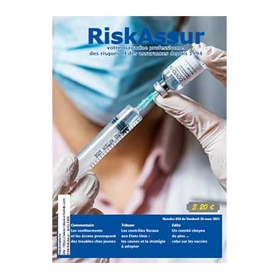 Numéro 654 de RiskAssur-hebdo du Vendredi 26 mars 2021