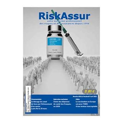 Numéro 656 de RiskAssur-hebdo du Vendredi 9 avril 2021