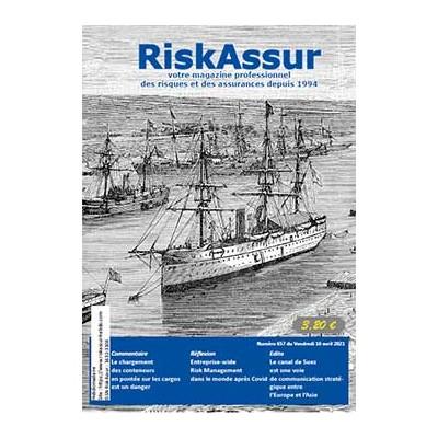 Numéro 657 de RiskAssur-hebdo du Vendredi 16 avril 2021