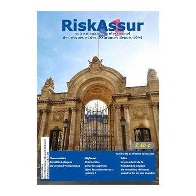 Numéro 662 de RiskAssur-hebdo du Vendredi 28 mai 2021