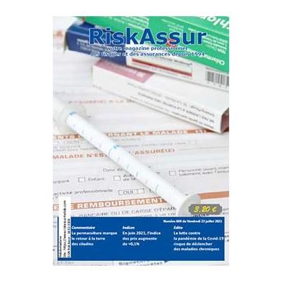 Numéro 669 de RiskAssur-hebdo du Vendredi 23 juillet 2021