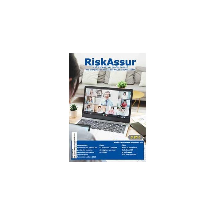 Numéro 674 de RiskAssur-hebdo du Vendredi 24 septembre 2021