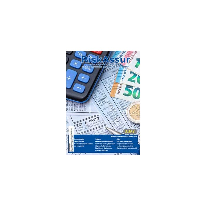 Numéro 677 de RiskAssur-hebdo du Vendredi 15 octobre 2021