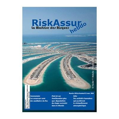 Numéro 350 de RiskAssur-hebdo du Vendredi 21 mars 2014
