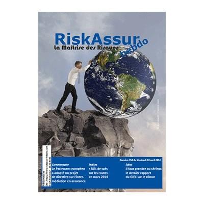 Numéro 354 de RiskAssur-hebdo du Vendredi 18 avril 2014